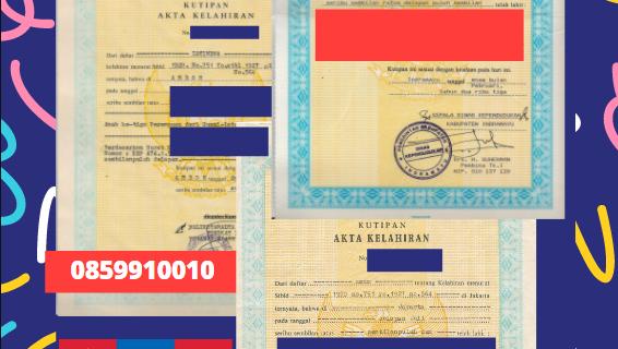 Jasa Legalisir Akta Lahir Indonesia Di Dornogovi – Mongolia || 08559910010