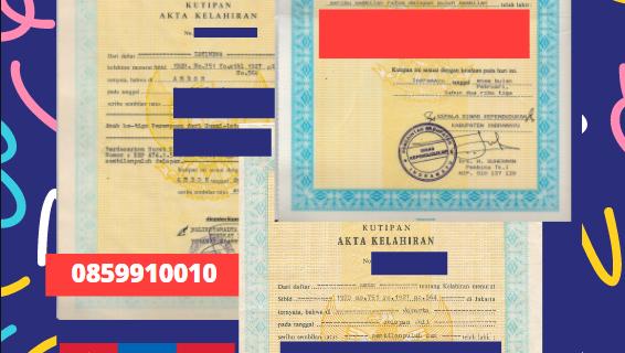 Jasa Legalisir Akta Lahir Indonesia Di Dundgovi – Mongolia || 08559910010