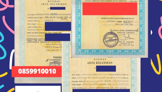 Jasa Legalisir Akta Lahir Indonesia Di Fukuoka – Jepang    08559910010