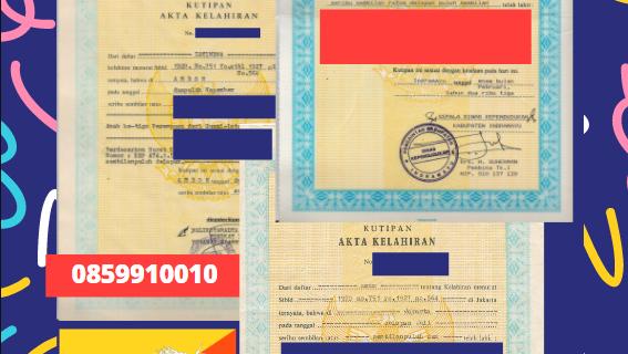Jasa Legalisir Akta Lahir Indonesia Di Gasa – Bhutan || 08559910010