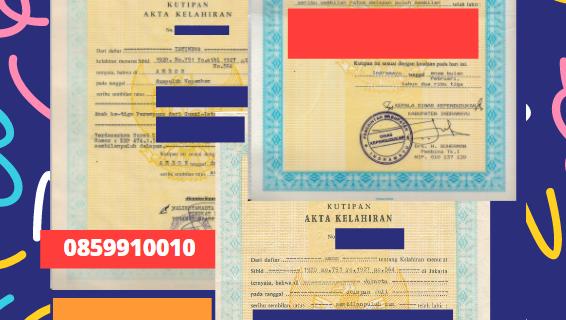 Jasa Legalisir Akta Lahir Indonesia Di Goa – India || 08559910010