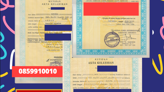 Jasa Legalisir Akta Lahir Indonesia Di Gusinje – Montenegro    08559910010