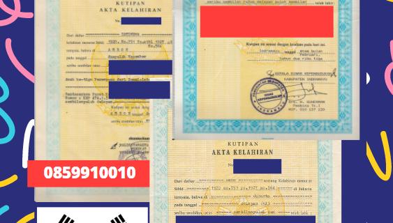 Jasa Legalisir Akta Lahir Indonesia Di Daegu – Korea Selatan    08559910010