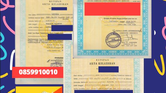 Jasa Legalisir Akta Lahir Indonesia Di Haa – Bhutan || 08559910010