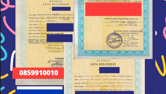 Jasa Legalisir Akta Lahir Indonesia Di Haifa – Israel || 08559910010