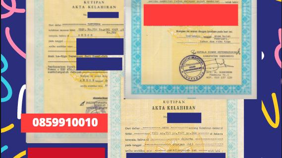 Jasa Legalisir Akta Lahir Indonesia Di Hajjah – Yaman || 08559910010