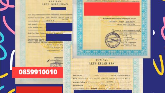 Jasa Legalisir Akta Lahir Indonesia Di Hội An – Vietnam || 08559910010