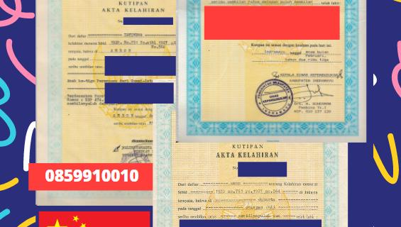 Jasa Legalisir Akta Lahir Indonesia Di Hubei – Tiongkok    08559910010