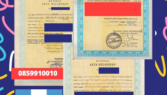 Jasa Legalisir Akta Lahir Indonesia Di Izabal – Guatemala || 08559910010
