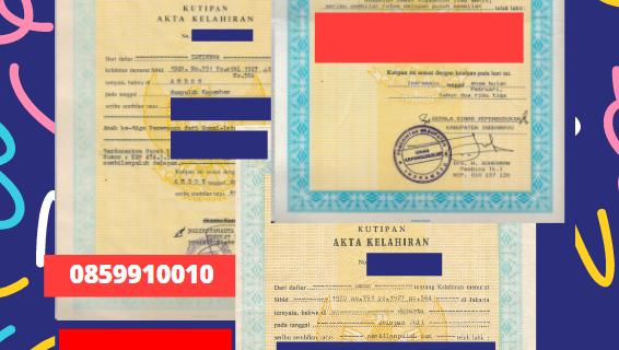 Jasa Legalisir Akta Lahir Indonesia Di Jawa Tengah – Indonesia || 08559910010