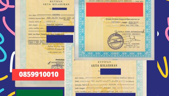 Jasa Legalisir Akta Lahir Indonesia Di Jīzan – Arab Saudi || 08559910010