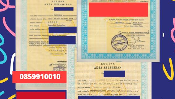 Jasa Legalisir Akta Lahir Indonesia Di Karbala – Irak || 08559910010