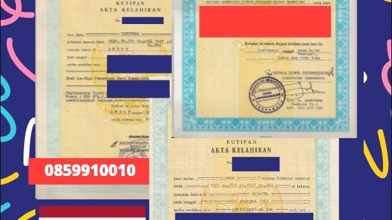 Jasa Legalisir Akta Lahir Indonesia Di Khon Kaen – Thailand || 08559910010