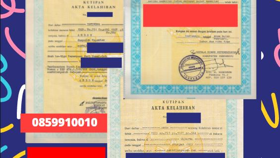 Jasa Legalisir Akta Lahir Indonesia Di Bandar Lampung – Indonesia    08559910010