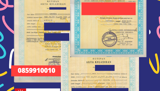 Jasa Legalisir Akta Lahir Indonesia Di Musandam – Oman    08559910010