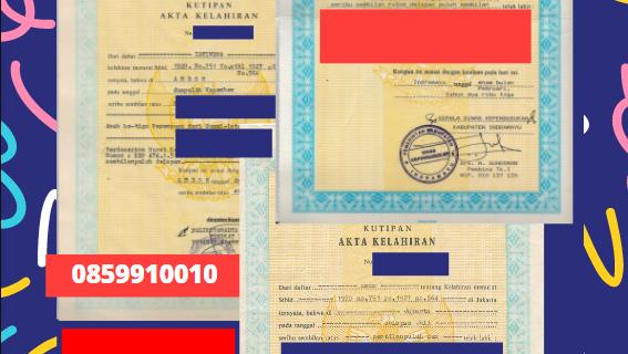 Jasa Legalisir Akta Lahir Indonesia Di Manokwari – Indonesia || 08559910010