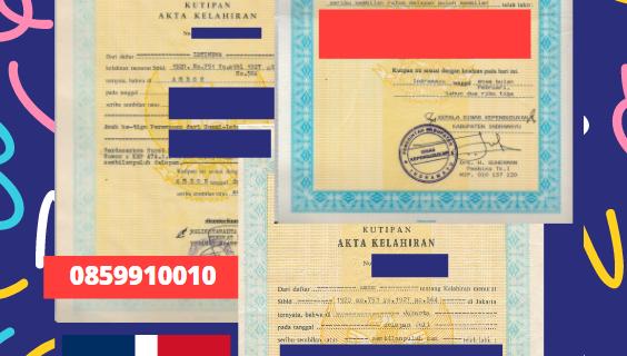 Jasa Legalisir Akta Lahir Indonesia Di Samaná – Republik Dominika || 08559910010