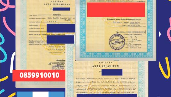 Jasa Legalisir Akta Lahir Indonesia Di Totonicapán – Guatemala || 08559910010