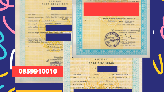 Jasa Legalisir Akta Lahir Indonesia Di Badulla – Sri Lanka || 08559910010
