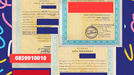 Jasa Legalisir Akta Lahir Indonesia Di Al-Mahrah – Yaman    08559910010