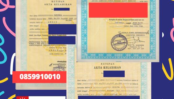 Jasa Legalisir Akta Lahir Indonesia Di Al-Batinah Utara – Oman    08559910010