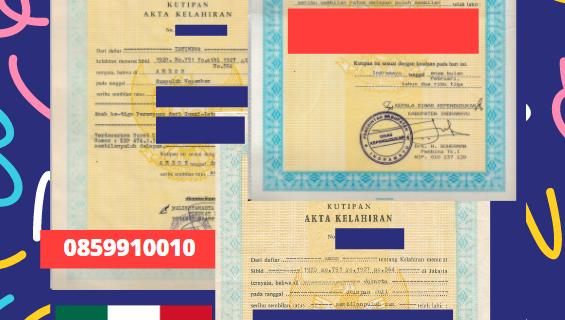 Jasa Legalisir Akta Lahir Indonesia Di Aguascalientes – Meksiko || 08559910010
