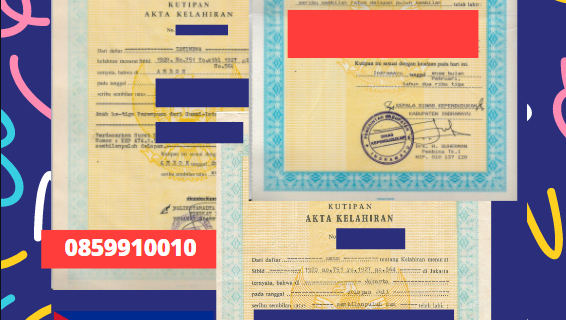 Jasa Legalisir Akta Lahir Indonesia Di Camagüey – Kuba    08559910010