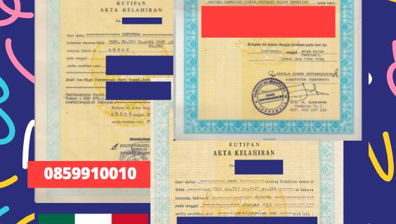 Jasa Legalisir Akta Lahir Indonesia Di Campeche – Meksiko || 08559910010