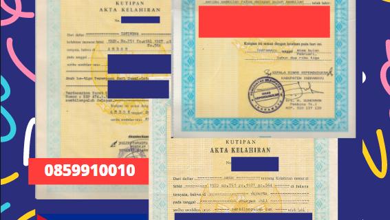 Jasa Legalisir Akta Lahir Indonesia Di Cienfuegos – Kuba || 08559910010