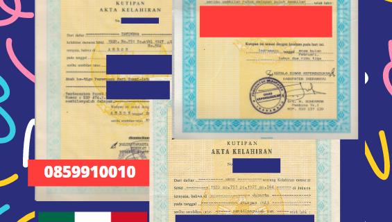 Jasa Legalisir Akta Lahir Indonesia Di Coahuila – Meksiko || 08559910010