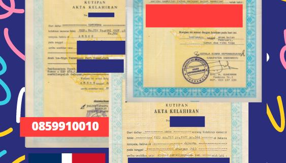 Jasa Legalisir Akta Lahir Indonesia Di Dajabón – Republik Dominika || 08559910010