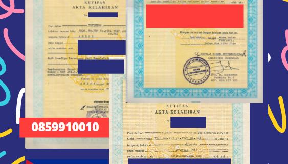 Jasa Legalisir Akta Lahir Indonesia Di Granma – Kuba || 08559910010