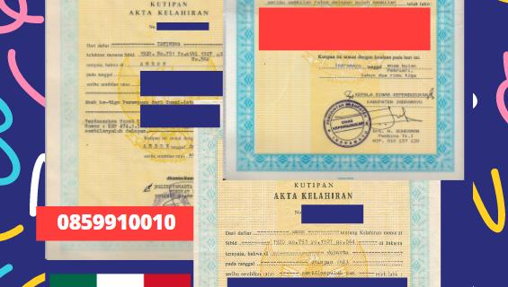 Jasa Legalisir Akta Lahir Indonesia Di Guerrero – Meksiko || 08559910010