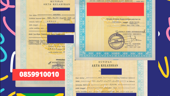 Jasa Legalisir Akta Lahir Indonesia Di Portland – Jamaika || 08559910010