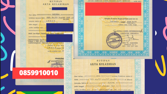 Jasa Legalisir Akta Lahir Indonesia Di Saint Andrew – Jamaika || 08559910010