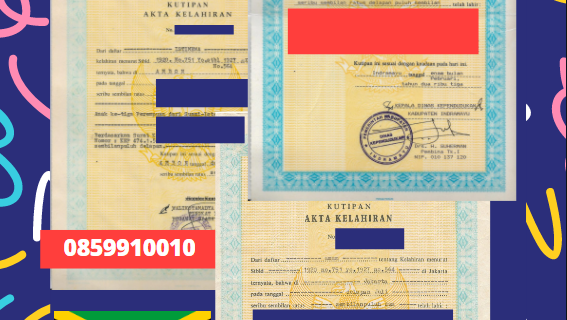 Jasa Legalisir Akta Lahir Indonesia Di Spanish Town – Jamaika || 08559910010
