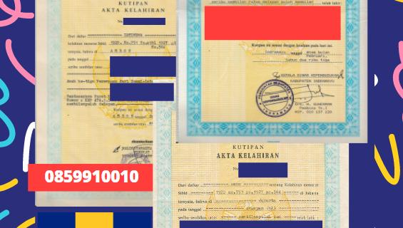Jasa Legalisir Akta Lahir Indonesia Di Saint Michael – Barbados    08559910010